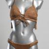 Bikini Franjes Bruin Brazilian Fit van Agua Bendita