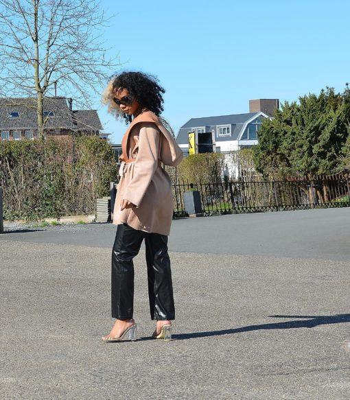 Cecillia Pink Hoodie Jacket