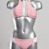 Bikini Strepen Roze Wit Kant van Agua Bendita