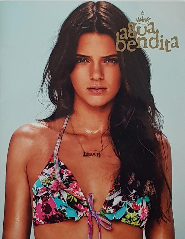 Kendall Jenner in bikini uit Agua Bendita lookbook