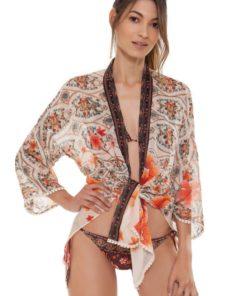 Voorkant Korte Dames Kimono Juana