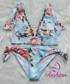 Lichtblauwe Bikini Set Cotton Candy