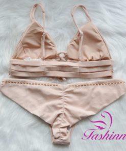 Lichtroze Bikini Set Dunes