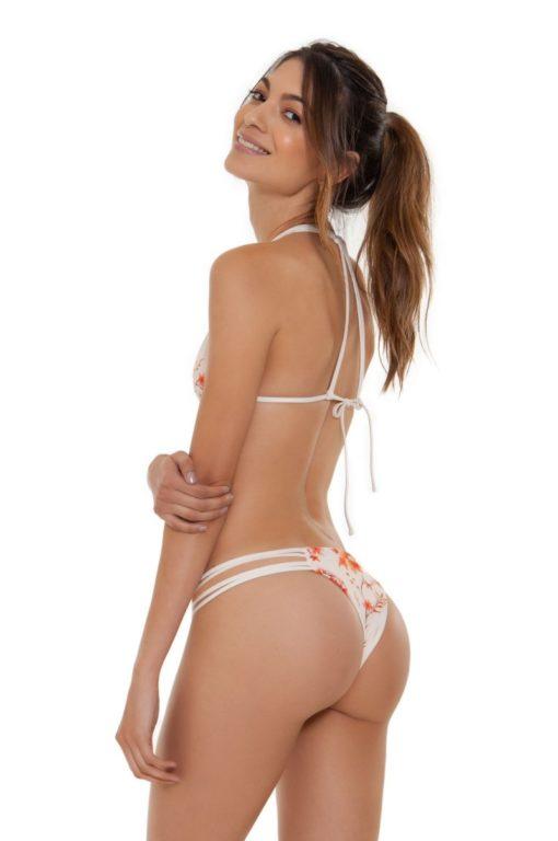 String Bikini Set Cocao